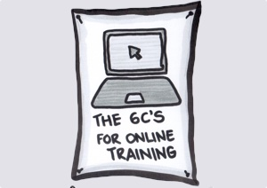 The 6C's for online training