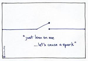 Lean cartoon
